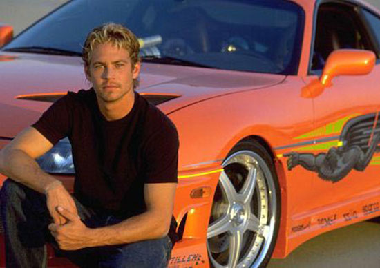 Paul Walker's Supra Will Go to Auction