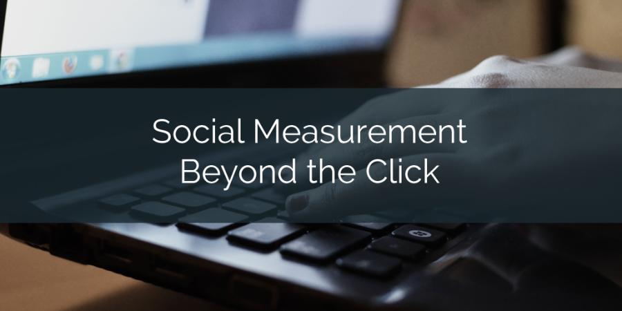 Social Measurement Beyond The Click