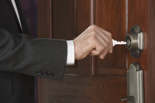 Is There an Unlocked Back Door in Your Business? 10 Tips to close it again.