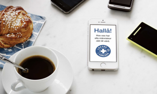 Humanitarian charity converts smartphone screens into free ad space
