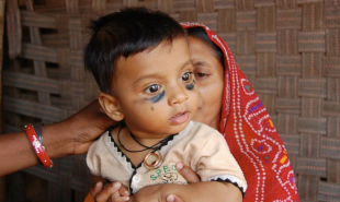 Smart Indian necklace stores infants' vaccination records