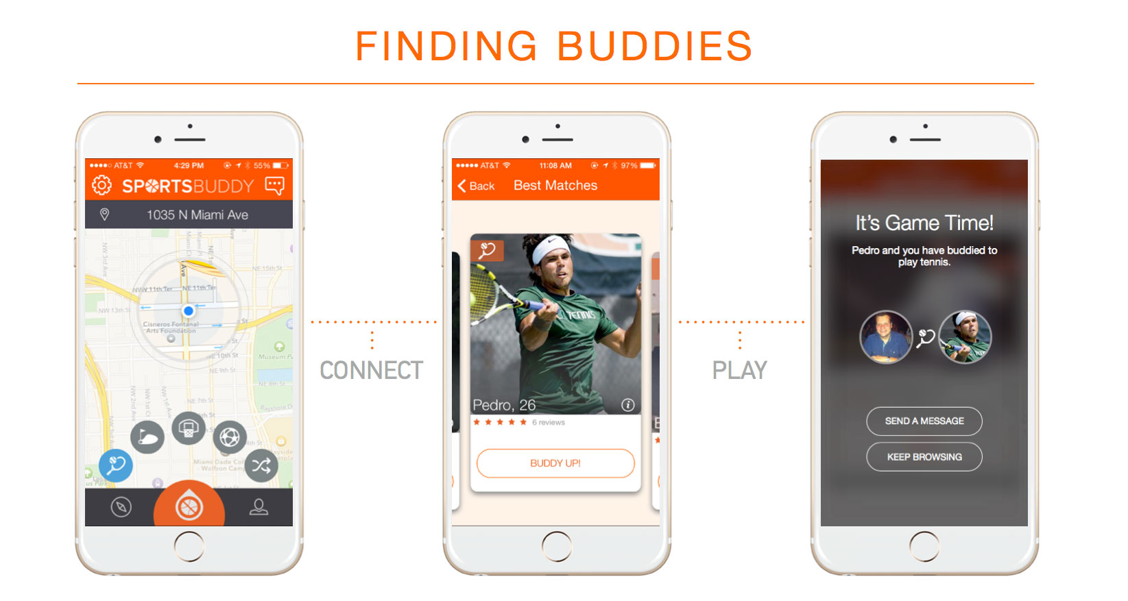 This Startup Is Building a Tinder for Athletes