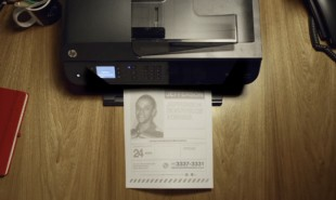 In Brazil, missing persons posters automatically print in nearby homes