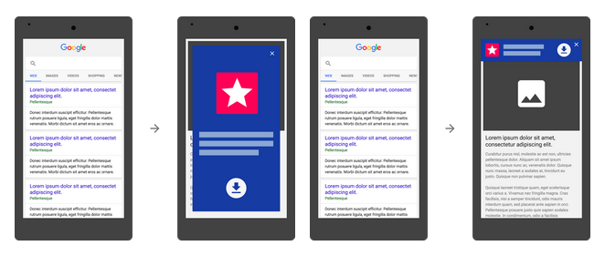 Google Update: Websites with App Download Pop-up to be Penalised