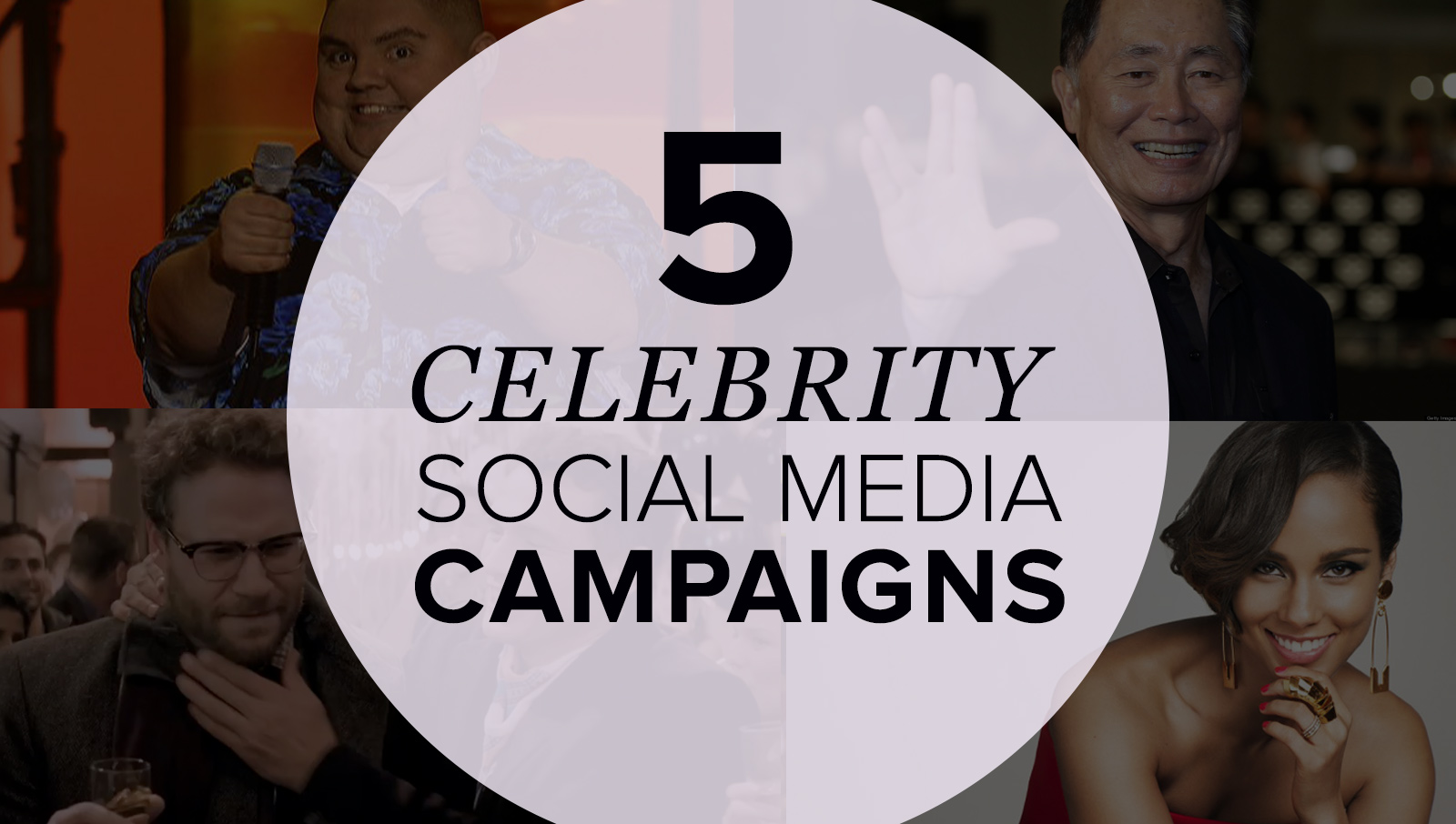 5 Great Celebrity Social Media Campaigns