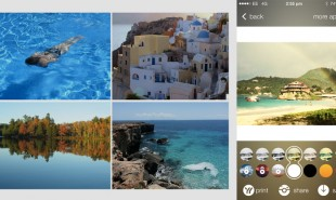 Print button lets users order pics from any photography app