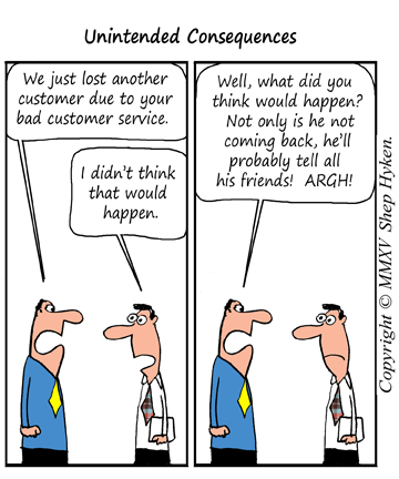 Unintended Consequences: The Fallout from Bad Customer Service