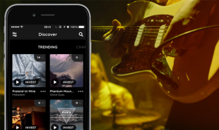 Music discovery and investment app rewards discerning listeners