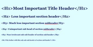 3 Reasons to Love Using Header Tags in WordPress