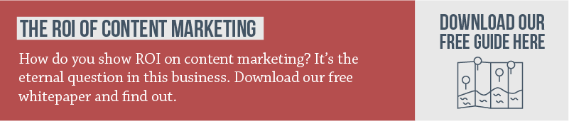 Have Courage; Have A Content Marketing Strategy