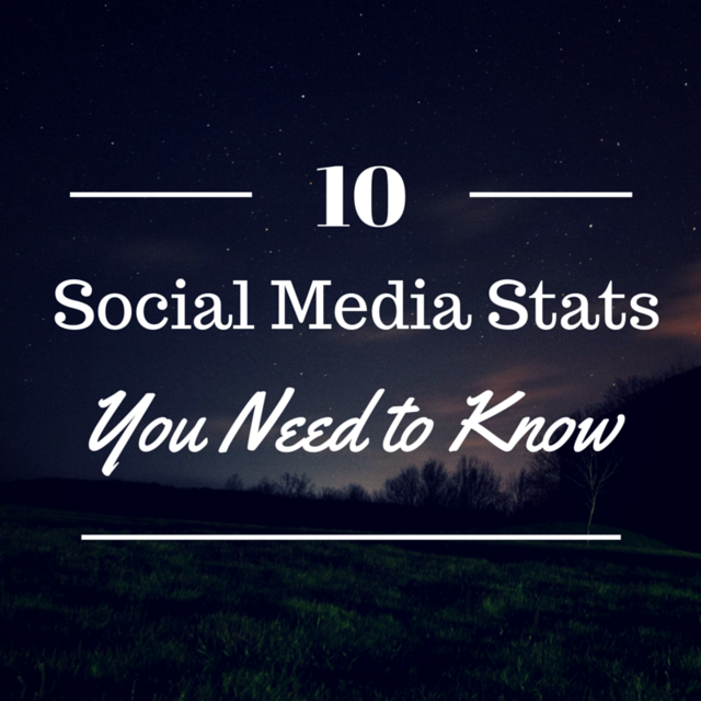 10 Social Media Stats You Might Not Know (But Should)