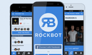 Virtual jukebox adds customers' favorite songs to venue's playlists automatically