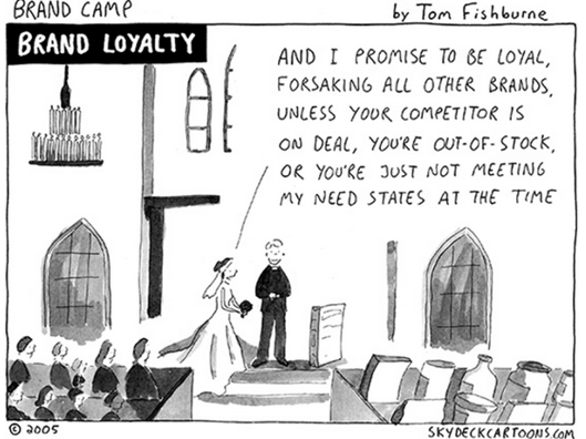 Customer Satisfaction Is Not Enough to Forge Loyalty
