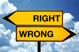 Right vs. Wrong – B2B Sales People and Additional Thoughts About the SiriusDecisions B2B Buyer Research