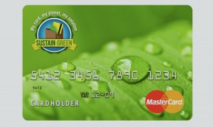 Credit card automatically offsets consumer's carbon footprint