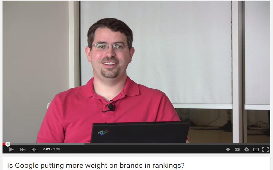 The Branding Chapter: Do Brands Dominate Relevancy Algorithm IGoogle?