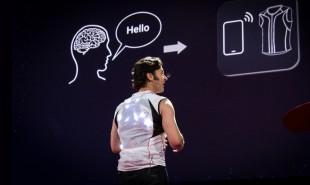 Smart vest creates entirely new human sense