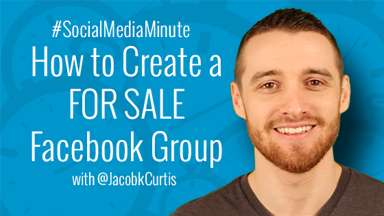 "How to Create or Request a ""For Sale"" Facebook Group"