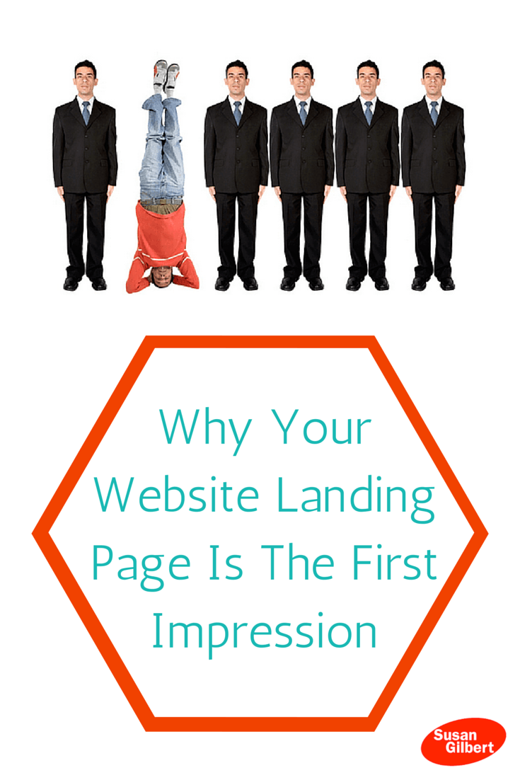 Why Your Website Landing Page Is The First Impression