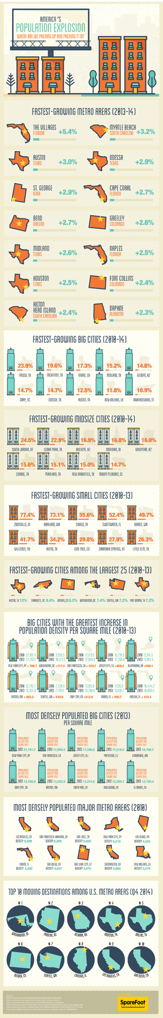 Where Is America Moving To? [Infographic]