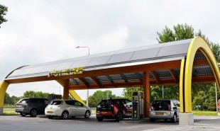 Free, life-long EV charging for investors in recharge station