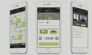Taxi service app lets users name their price