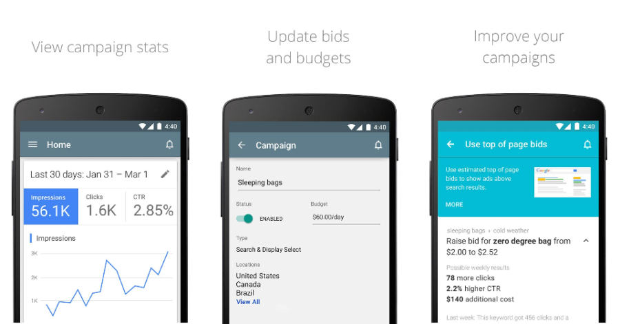 Google Rolls New AdWords App for Android Out Globally