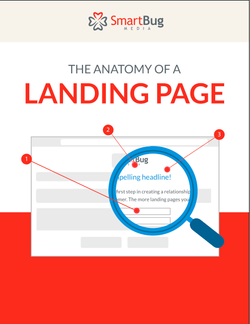 The Anatomy of a Landing Page (Infographic)