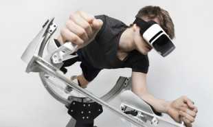 VR exercise machine lets users fly while they workout