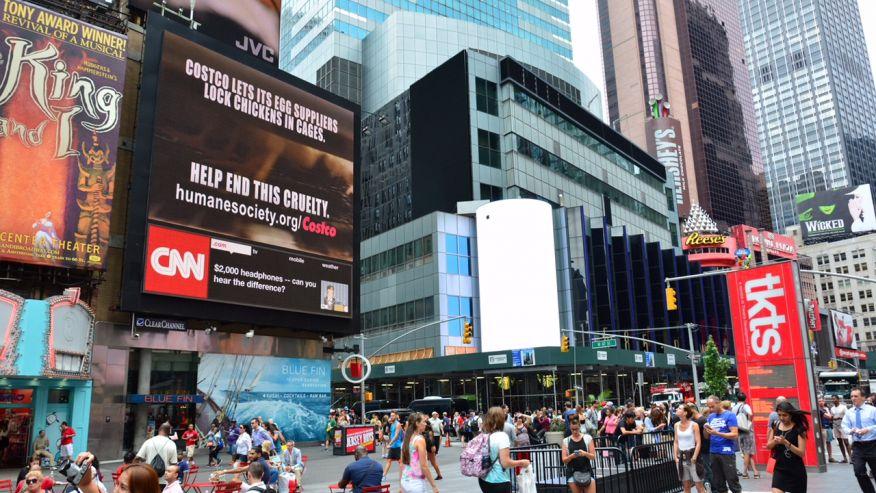 Costco Defends Practices Following Cage-Free Billboard Controversy