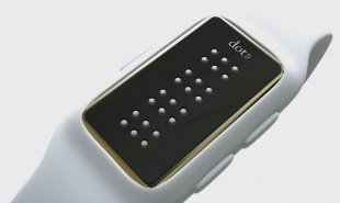 Braille smartwatch won't replace e-readers but it does tell the time brilliantly