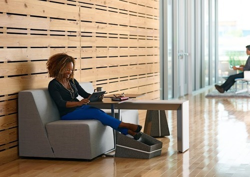 Office Furniture that Lets Workers Lounge Around