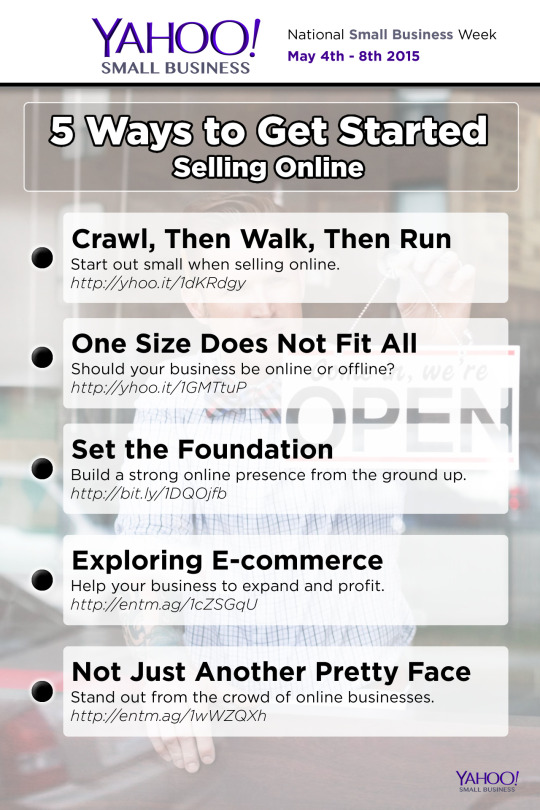 5 Ways to get started selling online