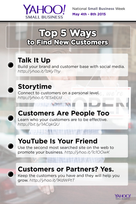 Top 5 Ways to Find New Customers