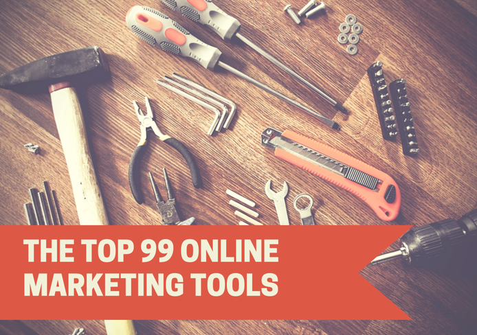 99 Online Marketing Tools You Won't Be Able To Live Without