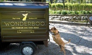 The world's first luxury dog food food truck