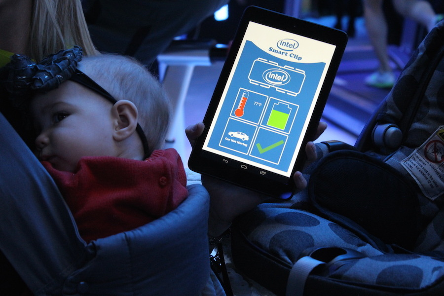 Intel Smart Clip Makes Sure You Never Forget Baby In The Car [CES 2015]