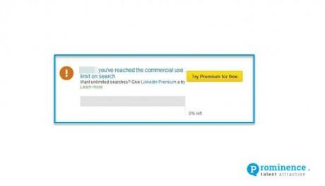 LinkedIn Update: LinkedIn Search Limit