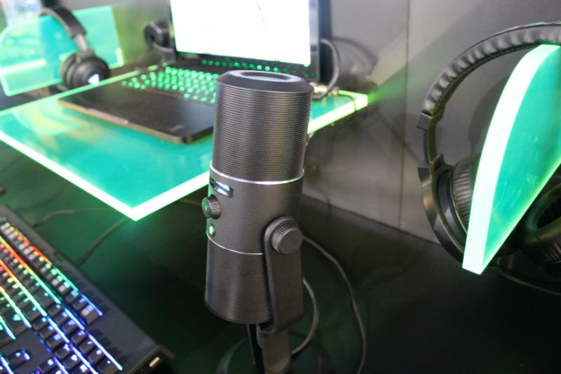 Razer Debuts Seiren Digital Microphone At CES 2015, Studio Grade Recording Quality At Home
