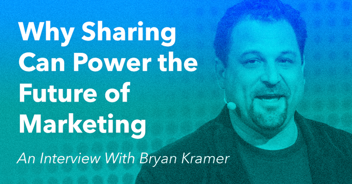 Why Sharing Can Power the Future of Marketing