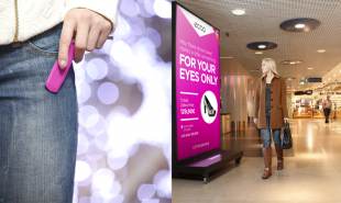 Digital keychain brings online cookie functionalities to the mall