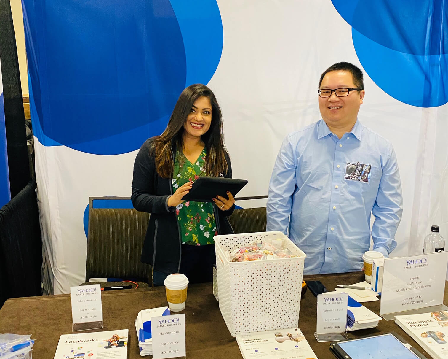 Yahoo Small Business attends Small Business Expo, Los Angeles