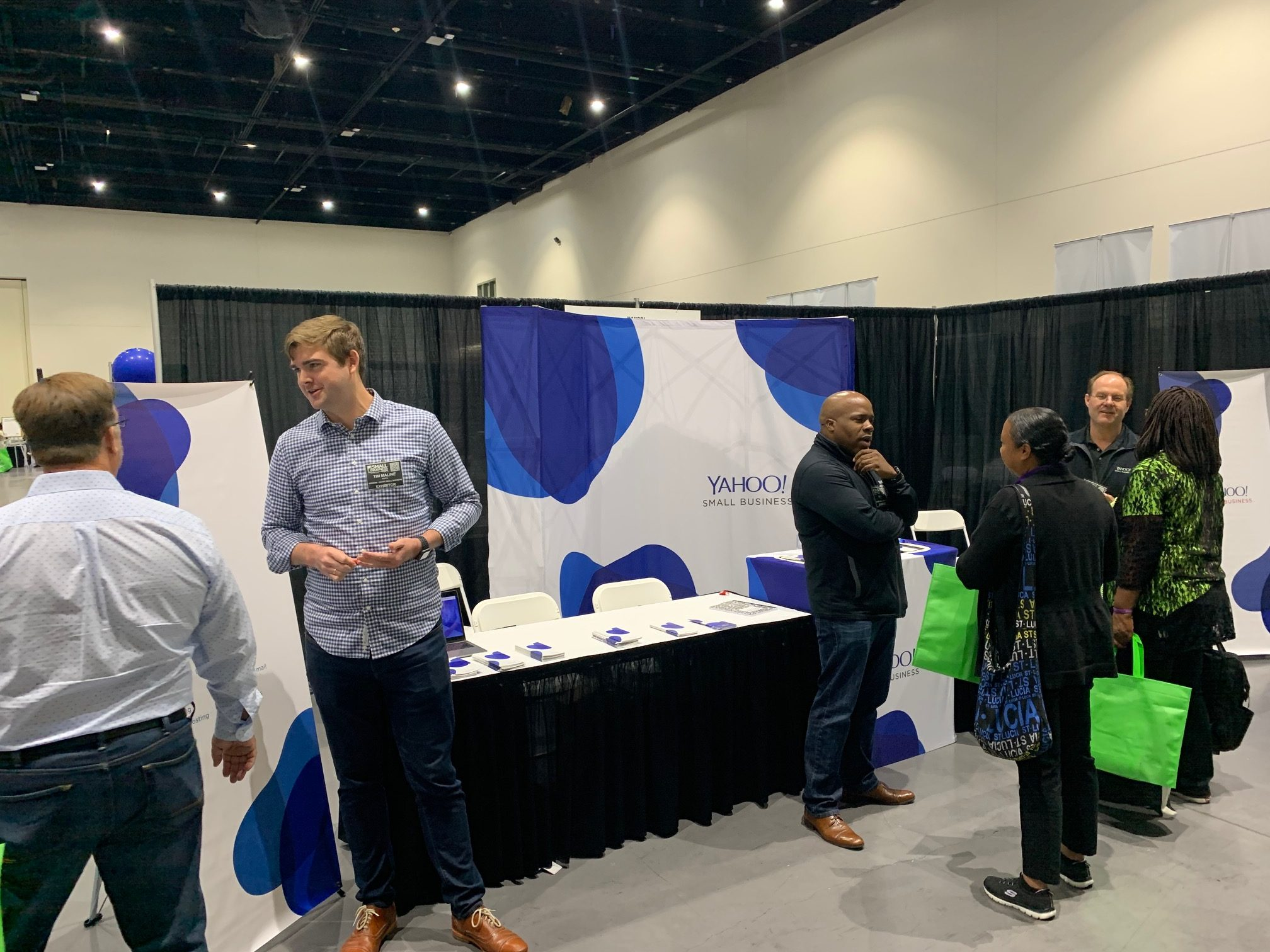 Yahoo Small Business attends Small Business Expo, San Diego