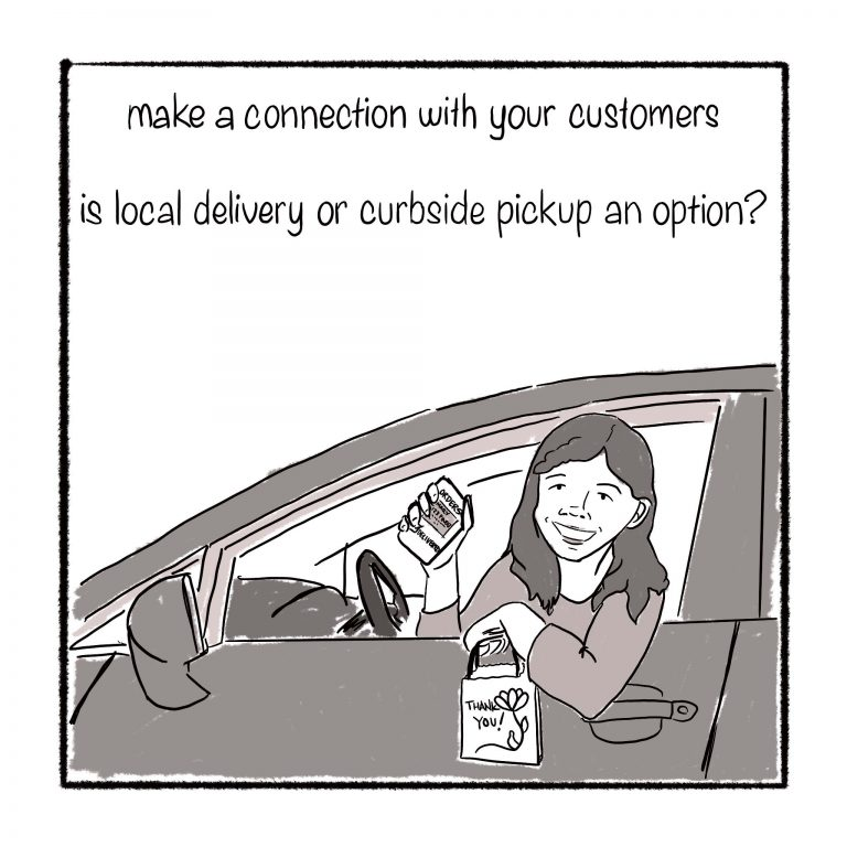 13 Pickup or delivery