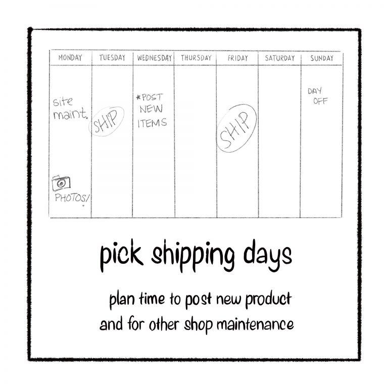 pick shipping days