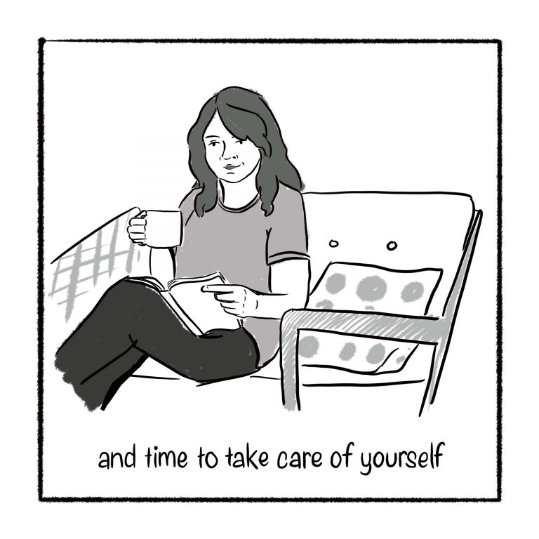and time to take care of yourself