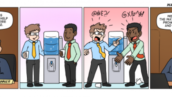 Conversations around the water cooler